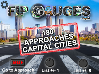 Airport Approaches - Capital Cities