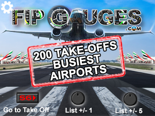 Airport Take-offs - Worlds Busiest<br>(Not MSFS2020)