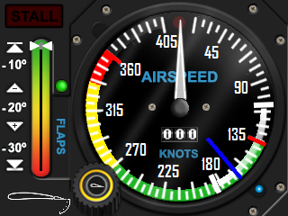 Airspeed (21 Speed Ranges)