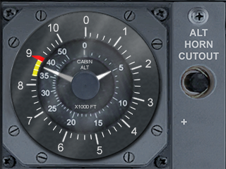 Cabin Pressure Differential - PMDG 737