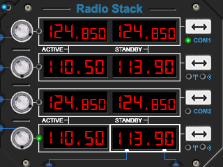 Radio Stack (Fully Interactive)