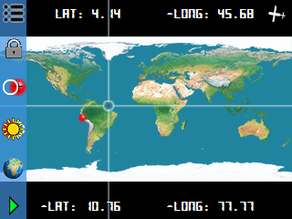 Aircraft Re-positioning<br>Slew World