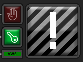 Train Simulator 2021 Alarm Panel