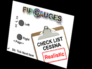 Cessna Realistic Check List